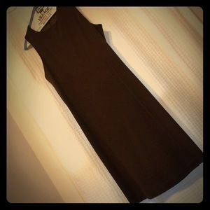 United Colors of Benetton brown shift dress